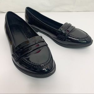 ASOS / Faux Patent Leather Loafers UK6 / US8